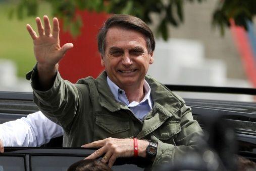 Bolsonaro fue elegido con el 55 por ciento de los votos.