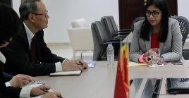 Rodríguez informó que los representantes de China fueron los primeros en comprar Petros en yuanes.