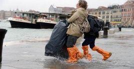 Las regiones de Veneto, Friuli Venecia Julia, Liguria y Trentino Alto Adigey Abruzo se mantienen en alerta tras el temporal que afecta a Italia en los últimos días.