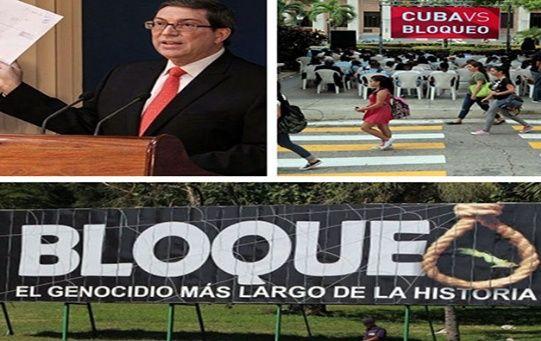 El canciller cubano denunció que EE.UU. había hecho circular una serie de enmiendas para justificar el bloqueo.