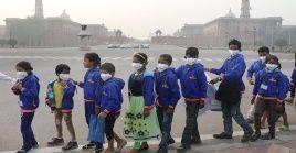 Segun la OMS en la India se encuentran las cuatro ciudades más contaminadas del mudo encabezadas por la capital Nueva Delhi.