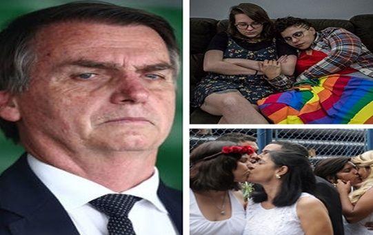 """En su momento, el nuevo presidente brasileño sostuvo que """"prefería un hijo muerto a uno gay"""", lo que despertó una oleada de críticas e indignación en el país."""