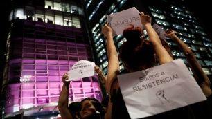 Gran cantidad de brasileños han protestado contra el mandatario electo.