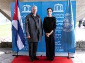 El año pasado Cuba y la Unesco celebraron el aniversario 70 de relaciones, periodo en el cual se ha establecido un sólido nexo bilateral.
