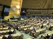 """""""El bloqueo (de Estados Unidos contra Cuba) es una violación del derecho internacional humanitario. No se puede contabilizar el sufrimiento humano"""", dijo el canciller cubano al presentar la resolución."""