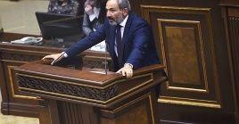"""""""Hay un acuerdo para celebrar los comicios legislativos parael 9 de diciembre"""", confirmó el primer ministro interino de Armenia, Nikol Pashinián."""