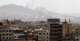 La capital yemení ha sido víctima de reiterados ataques aéreos por parte de Arabia Saudita y sus aliados.