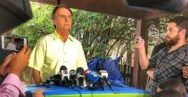 El presidente electo detalló que su embajador de Venezuela se encuentra en Brasil y la Embajada en el país vecino ya fue desactivada.
