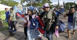 Según la vicecanciller para Salvadoreños en el Exterior, Liduvina Magarín, por lo menos 500 migrantes ya han pedido asilo al Gobierno mexicano.