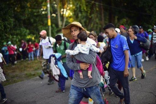 Resultado de imagen para jimmy morales y migrantes