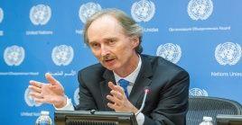 El diplomático noruego, Geir Pedersen, es el nuevo enviado especial de Naciones Unidas para Siria.