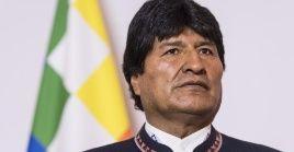 """Evo Morales hizo un """"llamado urgente a la comunidad internacional para preservar su vida"""". El presidente de Bolivia ha asegurado varias veces que Glas sufre persecución política."""