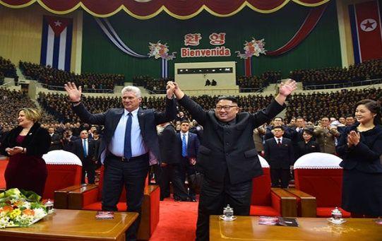 Corea del Note y Cuba mantienen buenas relaciones desde que entablaron lazos diplomáticos por primera vez en 1960.
