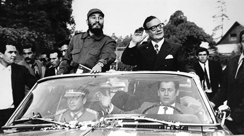 Fidel alertó a Allende sobre el inminente peligro fascista que representaba un sector de las fuerzas armadas chilenas. La historia le daría la razón.