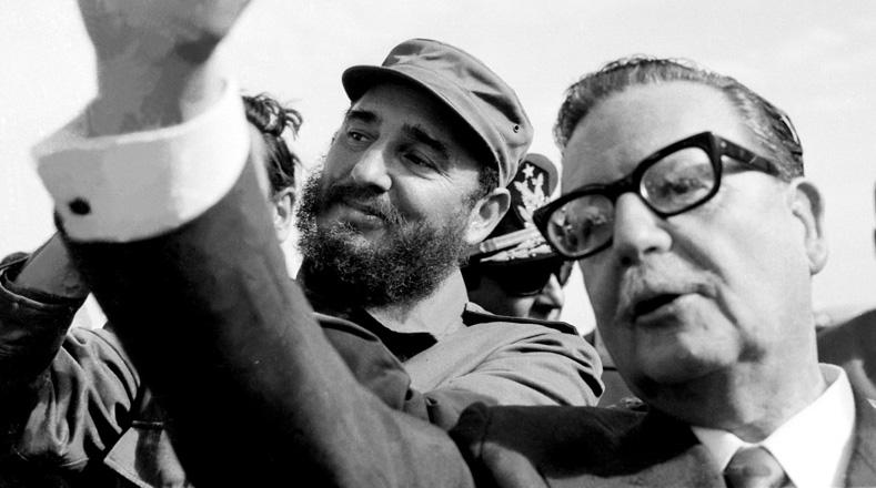 Fidel no dudó en enfrentar a la derecha chilena que a través del diario Tribuna lo ridiculizaba y exigía que se fuera de la nación austral.