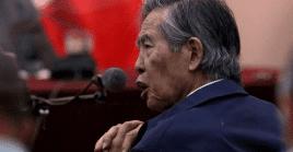 Fujimori fue condenado por violaciones a los derechos humanos.