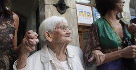 Desde 1985 Luisa Cuesta formaba parte de Familiares, una de las organizaciones de derechos humanos que trabaja en la búsqueda de los detenidos desaparecidos durante la última dictadura cívico militar.