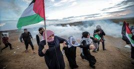 Desde el pasado 30 de marzo, más de 210 palestinos fueron asesinados por el Ejércitoisraelí y más de 22.000 resultaron heridos, entre ellos, mujeres y niños.
