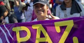 """""""Vamos al 40 aniversario del triunfo de la Revolución Sandinista con un sol que no declina y que alumbra nuevas victorias que son de Dios, de la paz, la fe y la esperanza"""", señaló la vicepresidente de Nicaragua."""