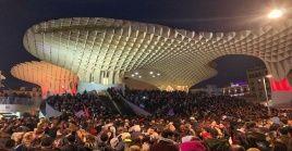 Los manifestantes exclamaron que no permitirán que el odio y el fascismo regrese a las calles de Andalucía.