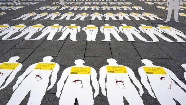 Desde el 1 de enero de 2018 al menos 234 líderes sociales han sido asesinados en Colombia.