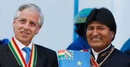 Morales y Linera van a las elecciones primarias por el Movimiento Al Socialismo en enero de 2019.