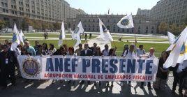 Representantes de la ANEF denunciaron que el Gobierno chileno ha incumplido el acuerdo en torno a los despidos.