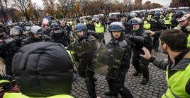 Durante las protestas del pasado fin de semana, más de 130 ciudadanos resultaron heridos y cientos fueron detenidos por la Policía.