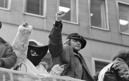 Los últimos años de vida de John Lennon estuvieron signados por su activismo y compromiso político.