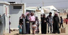 Refugiados sirios retornan a sus hogares en Siria
