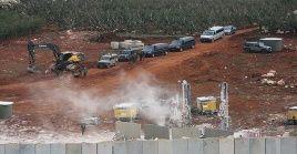 Entre las agresiones de Israel a Palestina está la construcción de nuevos asentamientos en territorios palestinos.