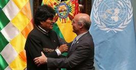 El coordinador residente de la ONU,Mauricio Ramírez, destacó que como organismo independiente velarán por el cumplimiento delos derechos electoralesen Bolivia.