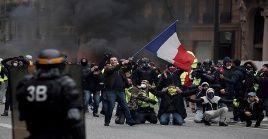 Las movilizaciones de los chalecos amarillos han sido reprimidas por las fuerzas de seguridad de Francia.