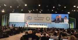 La Conferencia de las Partes de Cambio Climático (COP24) se celebró en Polonia.