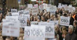 Los pensionistas muestran preocupación por el futuro del sistema público de pensiones.