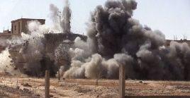 La coalición liderada por Estados Unidos mantiene operaciones ilegales en Siria desde 2014.