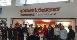 En 2018, Conviasaconsolidó conexiones con siete destinos internacionales en el Continente.