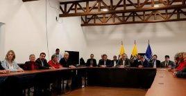 Los diálogos están suspendidos desde que el pasado 1 de agosto concluyó en la capital cubana el sexto ciclo de negociaciones con el anterior Gobierno colombiano.