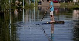 El Servicio Meteorológicio Nacional advirtió a la población sobre intensas lluvias y probabilidad de granizos en varias zonas durante las próximas horas.