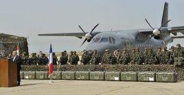 Francia seguirá realizando operaciones militares en Siria.