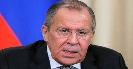 """El canciller ruso también expresó lapreocupaciónde su Gobierno por el """"agravamiento de las relaciones entre palestinos e israelíes""""."""