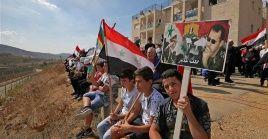 Israel ha construido decenas de asentamientos ilegales en los territorios del Golán y dirigeoperaciones contra el Ejército sirio.