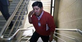 """El padre del comunero mapuche señaló que """"nosotros como familia no vamos a estar en condiciones de conversar con eldirector general, pero sí uno agradece el gesto""""."""