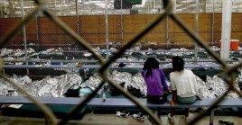 Muchos de los niños migrantes deberán pasar la Navidad en centros de detención.