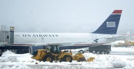 El mal tiempo afecto las labores en varios aeropuertos de EE.UU.