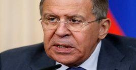 Lavrov aseguró que desde Rusia esperan que EE.UU. aclare cómo será la retirada de sus tropas en Siria.