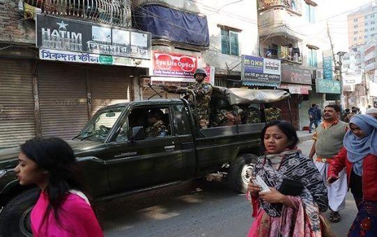 Las elecciones en Bangladesh se han llevado bajo fuertes medidas de seguridad.