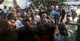 Las elecciones en el Congo estuvieron marcadas por episodios de violencia.