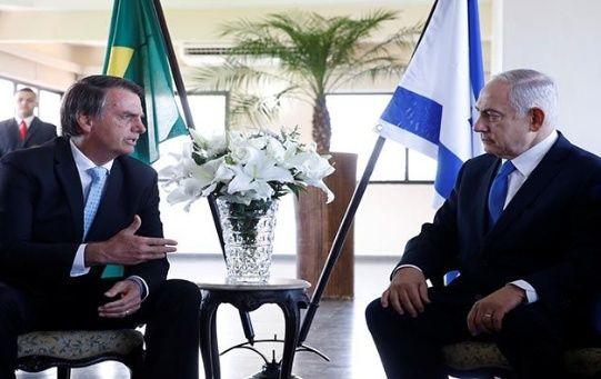 Bolsonaro y Netanyahu no conversaron sobre el cambio de la embajada de Brasil en Israel.