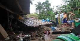 Más de 190 mil personas han tenido que dejar sus hogares tras el paso de Usman por Filipinas